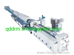 PE pipe production line in plastic machinery