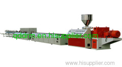 PVC foam profile extrusion line/foam board making machine
