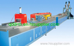 PVC wood plastic sheet extrusion line/sheet making machine