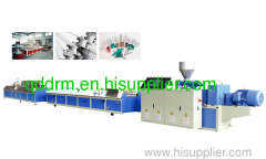 PVC Profile Bar Extrusion Production Line