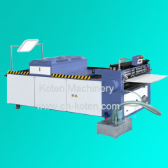 Semiautomatic Full UV Varnish Machine Model (RHW-650J)