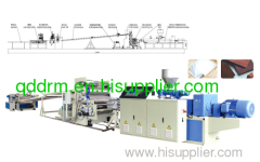 PVC Free Foaming Plate extrusion line