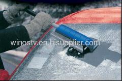 ICE SCRAPER WITH SNOW BRUSH