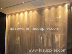 3mm golden cloth metallic curtain