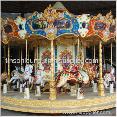 Ancient Single Deck Carousel