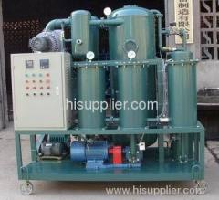 high efficiency double stage vaccum oil purifier