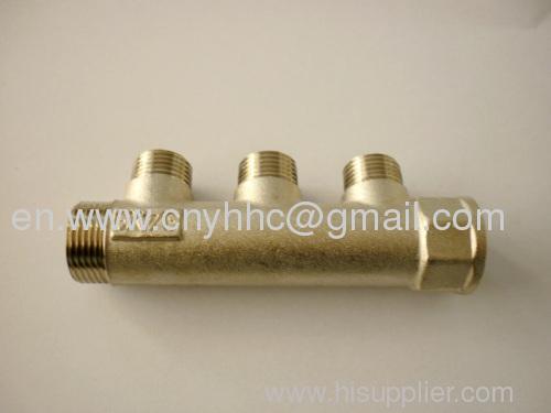 Brass manifold for gas oil water hc manufacturer