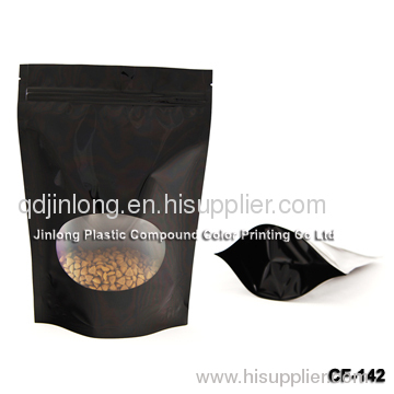 coffee pouch with valve