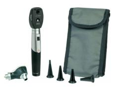 Ophthalmoscope kit in case