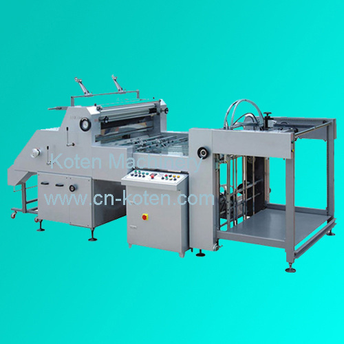 Automatic Water Soluble Laminating Machine (ZFM Series)