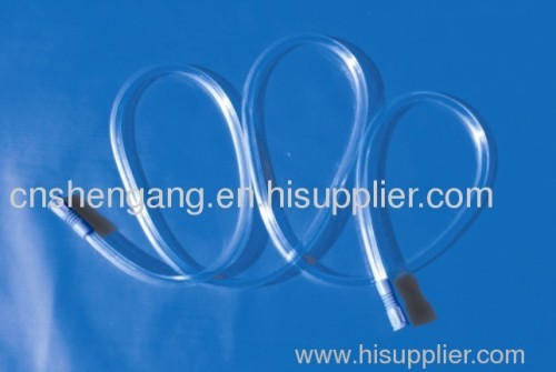 Medical single package connecting catheter