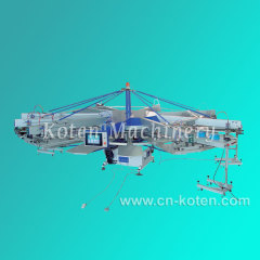 Automatic Rotary Silk Screen Printing Machine