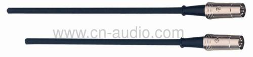Professional MIDI cable