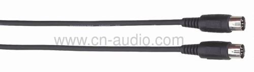 Professional MIDI cables