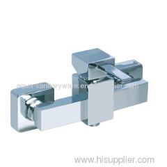 Square Shower Mixer Taps