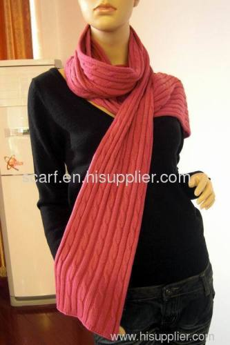 fashion knitted scarf