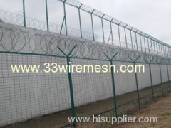 Prison Fence, plates with cycles