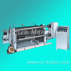 Horizontal Type Slitting and Rewinding Machine