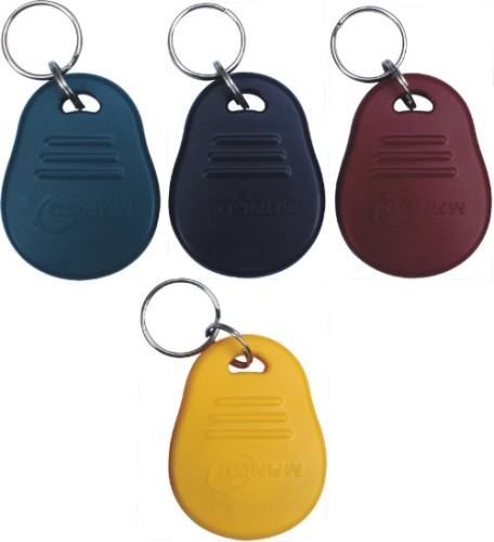 125KHz ABS RFID key fob with Chip T5577