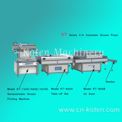 3/4 Series Automatic Screen Printing Machine