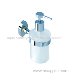 Toilet Soap Dispenser with glass