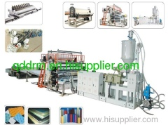 PP Single and Multi-layer Sheet Extrusion Line/plastic sheet