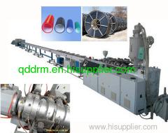 Silicon-Core PE composite pipe extrusion line/PE pipe line