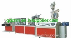 PE dripper irrigation host pipe extrusion line