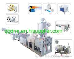 plastic gas and water pipe extrusion line