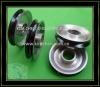 Ceramic coating guide pulleys(aluminium idler pulley)