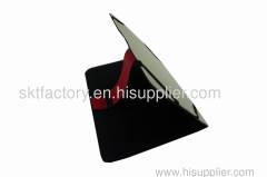 leather ipad case for MID and black ipad stand
