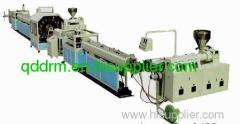 PVC Braided Fibre Reinforced soft pipe production line