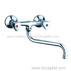 Kitchen Faucet with long spout