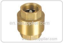 Forged brass check valve