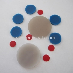 PTFE silicone septa liner