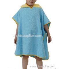 Baby Poncho, Terry Bath Poncho, Terry Towelling Poncho, Frottee Poncho, Ponco, Luxury Children Bathrobes