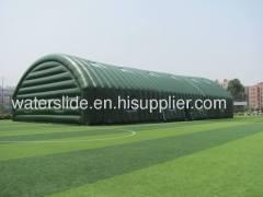 Giant double-deck pvc sport tent