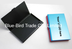 aluminum name card holder