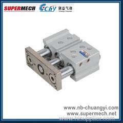 MGPM New Compact Tri-rod SMC Standard Pneumatic Cylinder
