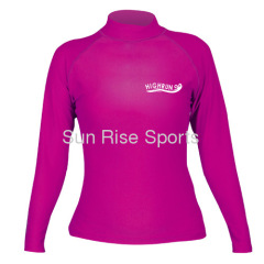 Long Sleeve Womens Rash Guards
