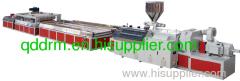 plastic door panel production line/plastic machine