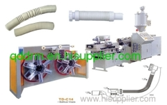 PP Single Wall Shrinkable Pipe extrusion Line