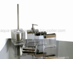 metal bathroom accessories toilet brush holder