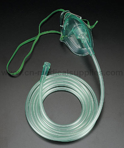 China Oxygen Mask with Tubing