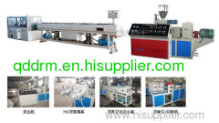 PVC twin pipe production line/PVC pipe making machine