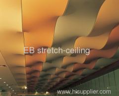 metallic stretch ceiling film
