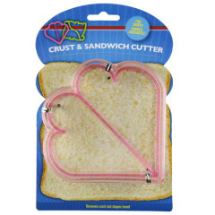 Crust & Sandwich Cutter -- Heart Shape
