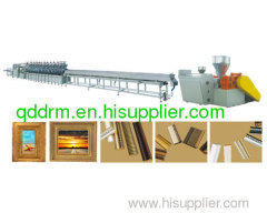 plastic extrusion line for PS foamed profile
