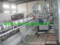 PE foam profile extrusion line/PP profile making machine