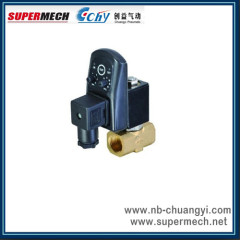 CLPT Series Timer Auto Drain Solenoid Valve air compressor normally closed with Electronic timer